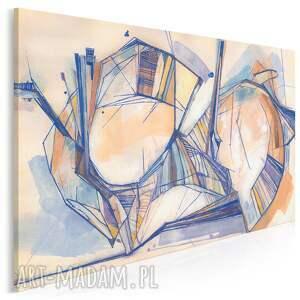 vaku dsgn obraz na płótnie - abstrakcja retro vintage 120x80 cm 702701