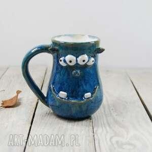 ceramika kubek ceramiczny potworek, dla dziecka, prezent, niej