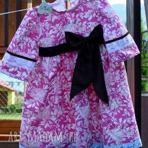 ręcznie szyta sukienka z hiszpańskich tkanin, sukienka, hiszpania, elegancka