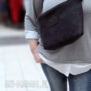 pracownia magosha nerko-torba xl kolor czarny gruby syntetyczny nubuk waterproof