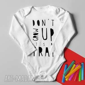 Body nie dorastaj, body, śmieszne, grow, trap, text, napis