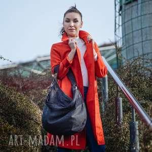 torebki grafitowa torba w kształcie łódki z grubo plecionej tkaniny, pleciona, worek