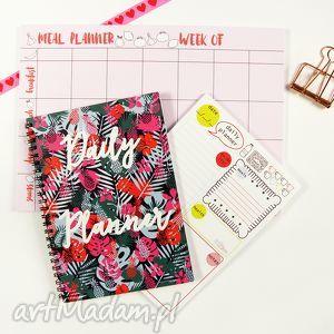 Zestaw planerów, Notes dzienny i tygodniowy, zestaw, notes, planer, lista, plan, menu