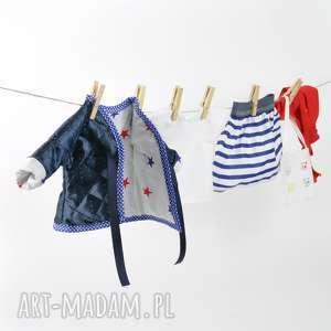 ubranka dla lalki - pikówka , lalki, ubranka, dlalalek, kurtka, marynarskie