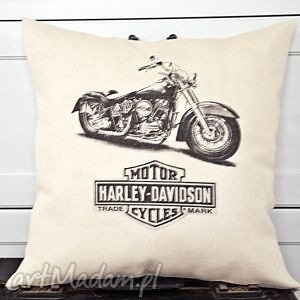 Prezent Poduszka harley motor, motocykl, harley, poduszkaharley, prezent