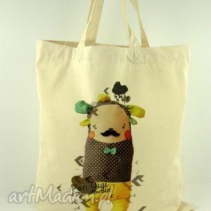 torba pan gigi - płocienna, torba, płótno, ekologiczna, uszy, oryginalna, prezent