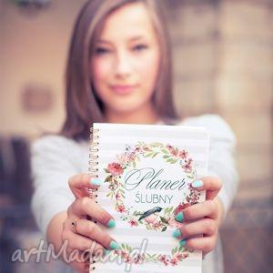 ręcznie robione ślub planer ślubny, notes, kalendarz