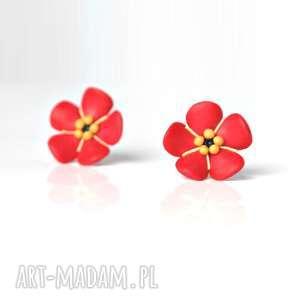 Kwiatuszki - kolczyki wkrętki forever young kwiatki, kwiat