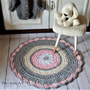 sznurkowa dywan - dywanik, dywan, dla-dziecka, do-pokoju, na-podłogę