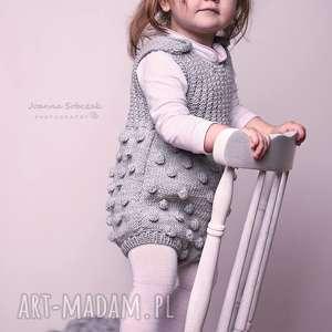 ramper dziecięcy bąbelki, wełniany, dziecięcy, wygodny, oryginalny, mięciutki