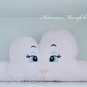 hand-made pokoik dziecka poduszka chmurka haftowana - rozalka