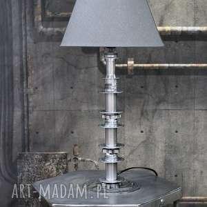Lampa stołowa Hub, stołowa, biurko, industrialna, loftowa, metalowa, duża