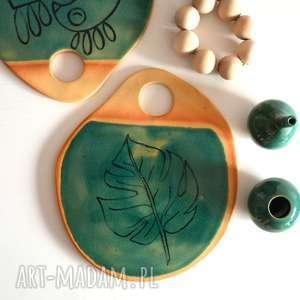 Podstawka ceramiczna, podstawka, talerz, ceramika, patera, taca