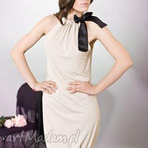 Sukienka bombka z kokardą, kokardka, bombka, kobieca, wyjątkowa