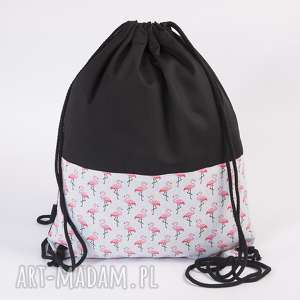 Flamingi mini gawka flamingi, plecaki, worki, flaming