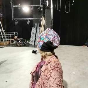 czapka damska patchworkowa na podszewce rozmiar uniwersalny - box f1