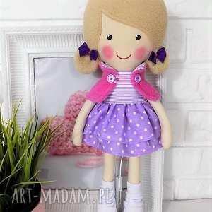Prezent MALOWANA LALA ROZALIA, lalka, zabawka, przytulanka, prezent, niespodzianka