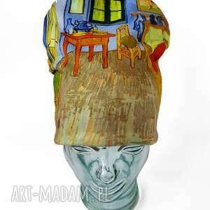 czapki czapka van gogh, nadruk, wnętrze, dzieło sztuki, pokój