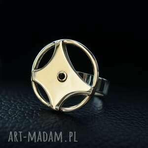obrotowy pierścionek kierownica srebro, samochód, kierownica, srebrny