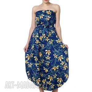 ręczne wykonanie ubrania wyjątkowy kombinezon, maxi spódnica, 100%