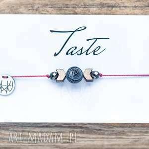 whw taste matt agate, sznurkowa, sznureczkowa, agat, trawiony, hematyt, delikatna