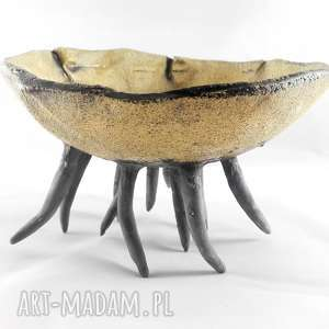 hand-made ceramika miska ceramiczna - morska