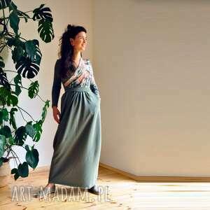 Sukienka z dzianiny - gaja sukienki mimi monster dzianinowa