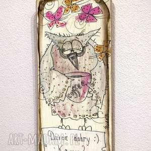 Deseczka z sentencją nr 66 dom marina czajkowska anioł, aniołek