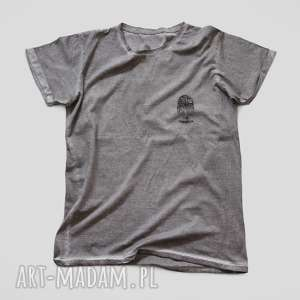 hand-made koszulki mini sowa koszulka unisex vintage
