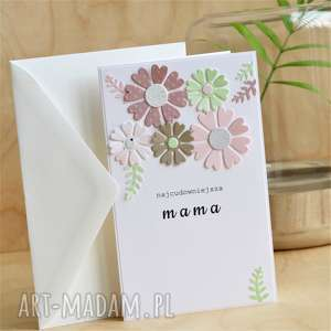 kartka na dzień mamy lub inne okazje matki, mama imieniny kobiet