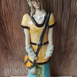 szamanka ii, ceramika, szmanka, las, wilk