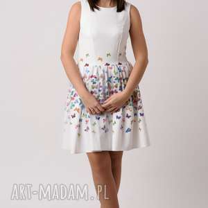 sukienka damska mariposa, sukienka, balowa, motyli, tiul, rozkloszowana, mama