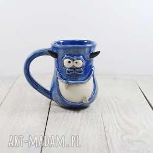 ceramika mula kubek ceramiczny potworek, gwiazdka, prezent, dla mamy, taty