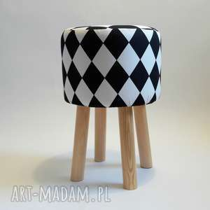 Pufa Arlekin 2 - 45 cm, pufa, ryczka, stołek, dziecko, taboret