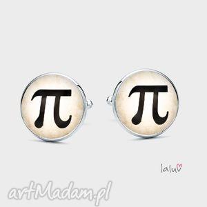 spinki do mankietów liczba pi, nauczyciel, matematyka, fizyka