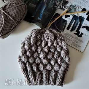 ciepła czapka, nakryciegłowy, wełniana, zimowa, nadrutach