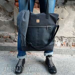 świąteczny prezent, torebka catoo premium #02, pikowana torebka, duża torba