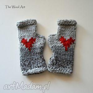 walentynkowe rękawiczki - rękawiczki, mitenki, walentynki, prezent