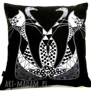 Poduszka z kotami, koty, kot