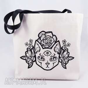 eko torba zakupowa z haftem - ,eko,torba,shopperka,zakupowa,torebka,haft,
