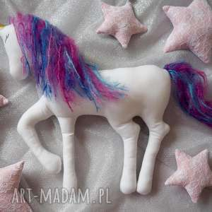 handmade zabawki jednorożec