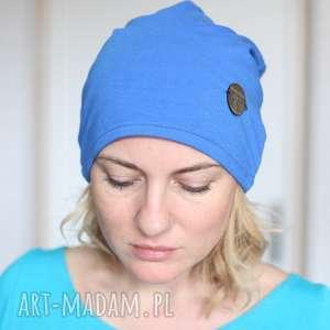 handmade czapki czapka damska dzianina dresowa