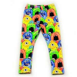 potworki ciepłe legginsy z dresówki, całoroczne spodnie dla dziewczynki