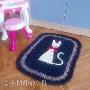 artedania dywan z kotkiem, dywan, dywanik, kot, prostokątny, chodnik