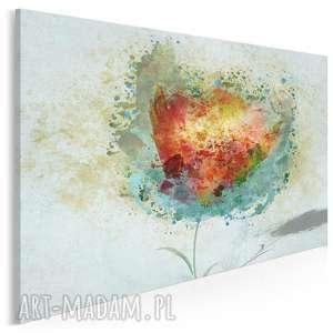 obraz na płótnie - artystyczny kwiat 120x80 cm 57301, kwiat