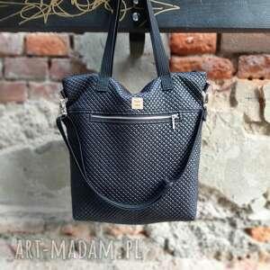 torebka catoo premium #01, czarna torebka, premium, wegańska, metalowy zamek