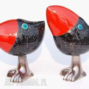 oto szdoki - zwierzątka, czerwony figurki, czarny