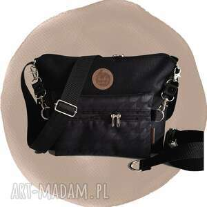 handmade torebki torebka modułowa black 4w1 - classy