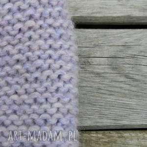 handmade czapki alpaca szlachetna czapka piękny pastelowy kolor