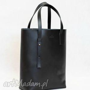 stylowy skórzany shopper bag, torebka, torebkaskórzana, skóranaturalna, do